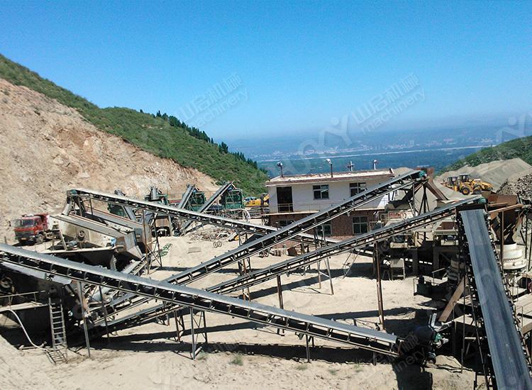 河南洛阳铁矿石破碎生产线