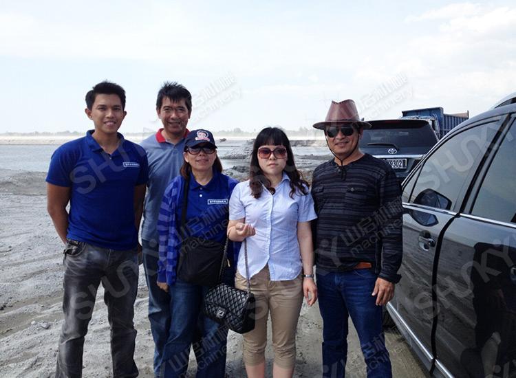 菲律宾马尼拉客户来华访问